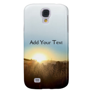 Tractor at Sunrise  Samsung Galaxy S4 Case