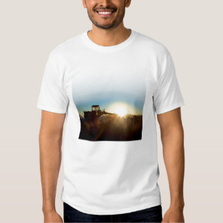 Tractor at Sunrise T-Shirt