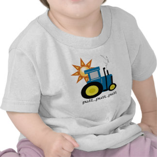 Tractor azul camiseta