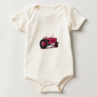 Tractor Baby Bodysuit