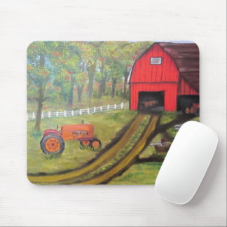Tractor Barn Mouse Pad by JML
