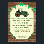 "Tractor Birthday Invitation, Farm Birthday Invitation<br><div class=""desc"">A perfect way to invite your guests to your little boy&#39;s birthday party! Great for a Tractor Birthday theme!</div>"