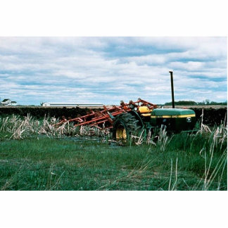 Tractor Bogs plowing wetlands Photo Cut Outs