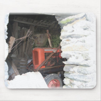 TRACTOR BOY MOUSE PAD