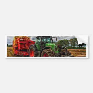 tractor bumper sticker