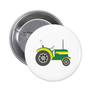Tractor Pinback Buttons