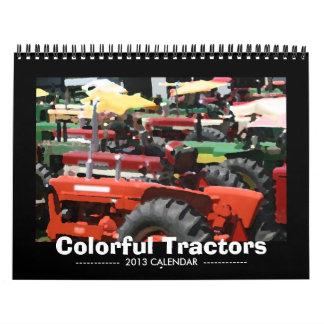 Tractor Calendar: Colorful Tractors (2013) Calendar