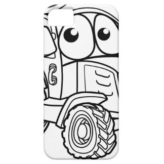 Tractor Cartoon Character iPhone SE/5/5s Case