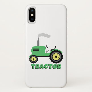 Tractor iPhone X Case