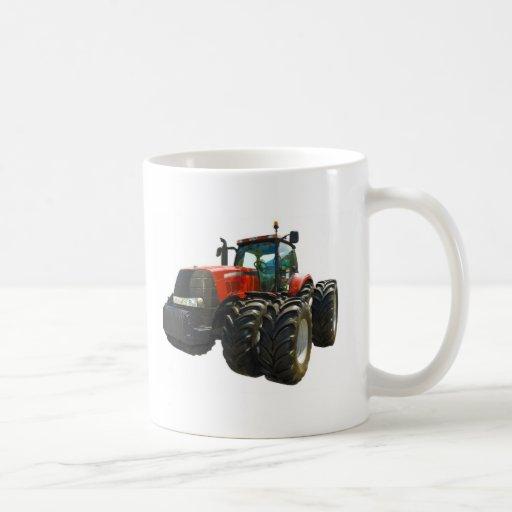 tractor classic white coffee mug
