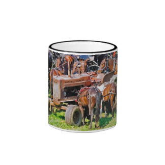 Tractor como taza del poste que engancha