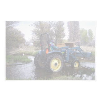 Tractor  Creek Clearing Stationery