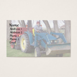 Tractor Dad Business Card