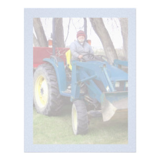 Tractor Dad Letterhead