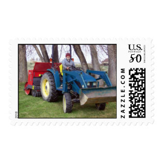 Tractor Dad Postage