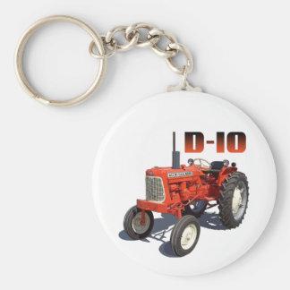 Tractor de Allis Chalmers D-10 Llavero Redondo Tipo Pin