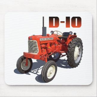 Tractor de Allis Chalmers D-10 Alfombrillas De Ratones