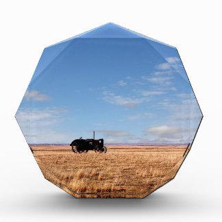 Tractor de Bengough en las praderas