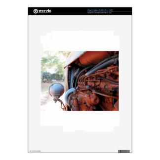Tractor de correa eslabonada italiano viejo calcomanía para iPad 2