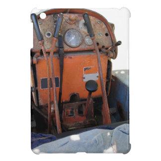 Tractor de correa eslabonada italiano viejo del