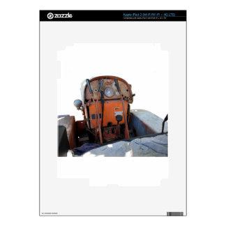 Tractor de correa eslabonada italiano viejo del pegatina skin para iPad 3