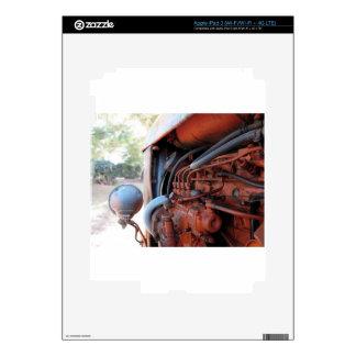 Tractor de correa eslabonada italiano viejo iPad 3 skins