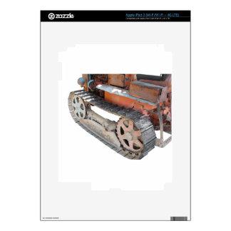 Tractor de correa eslabonada italiano viejo pegatinas skins para iPad 3
