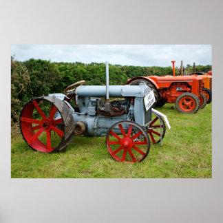 Tractor de Fordson Póster