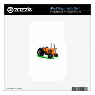 Tractor de granja clásico iPod touch 4G calcomanías