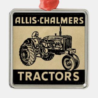 Tractor de granja del vintage ornamento para reyes magos