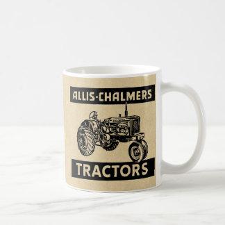 Tractor de granja del vintage tazas