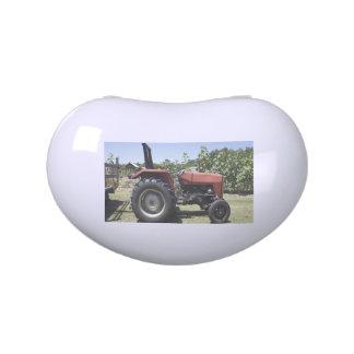 Tractor de granja frascos de dulces