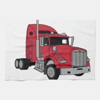 Tractor de Kenworth Toalla De Mano