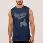 Tractor de los granjeros camiseta sin mangas
