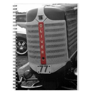 Tractor de Oliverio Spiral Notebook