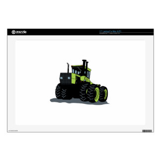 "Tractor Decal For 17"" Laptop"