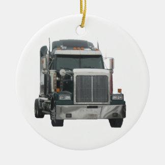 Tractor del camión ornamentos de reyes magos