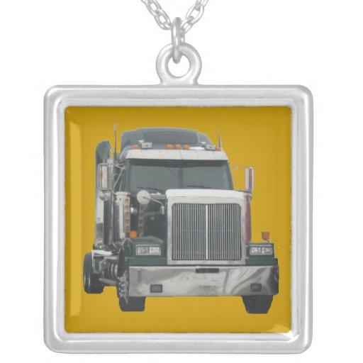 Tractor del camión joyeria