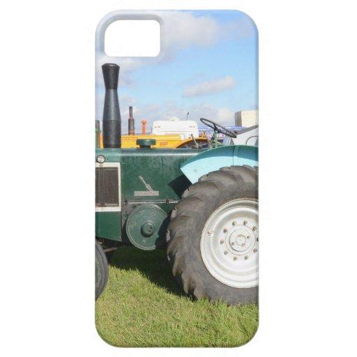 Tractor del diesel del vintage funda para iPhone 5 barely there