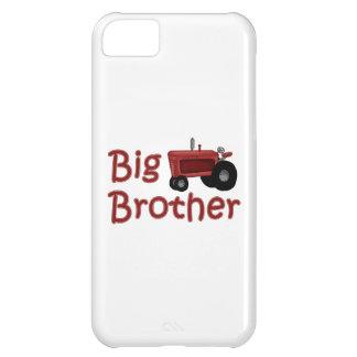 Tractor del rojo de hermano mayor