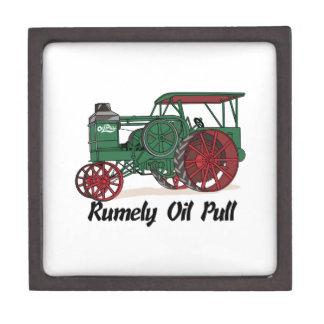 Tractor del tirón del aceite de Rumely Caja De Joyas De Calidad