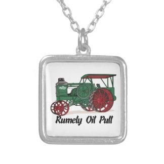 Tractor del tirón del aceite de Rumely Colgante Cuadrado