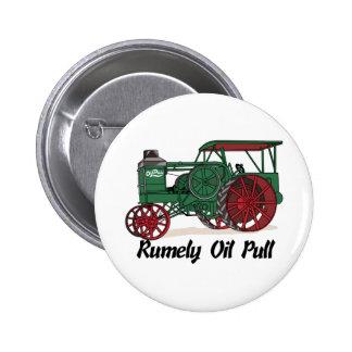 Tractor del tirón del aceite de Rumely Pin Redondo 5 Cm