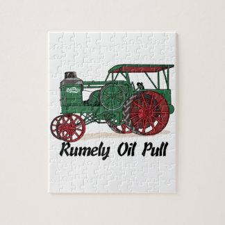 Tractor del tirón del aceite de Rumely Rompecabeza