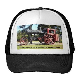 Tractor del vapor del vintage gorro