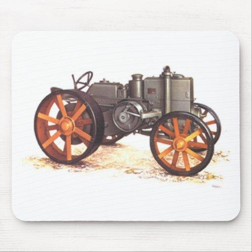 Tractor del vintage alfombrillas de raton