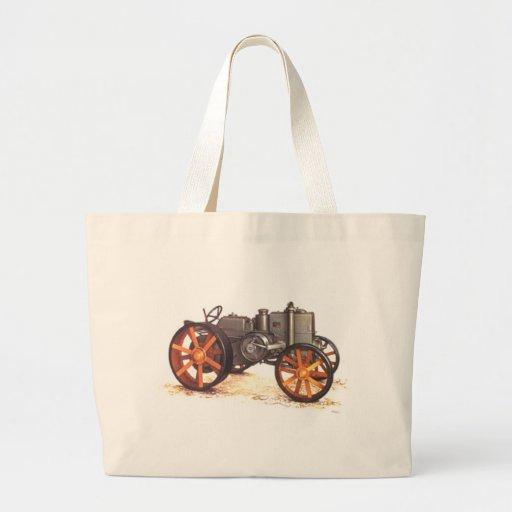 Tractor del vintage bolsa