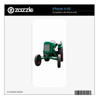 Tractor del vintage iPhone 4S skin