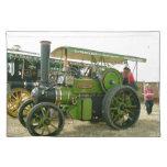 tractor del vintage mantel