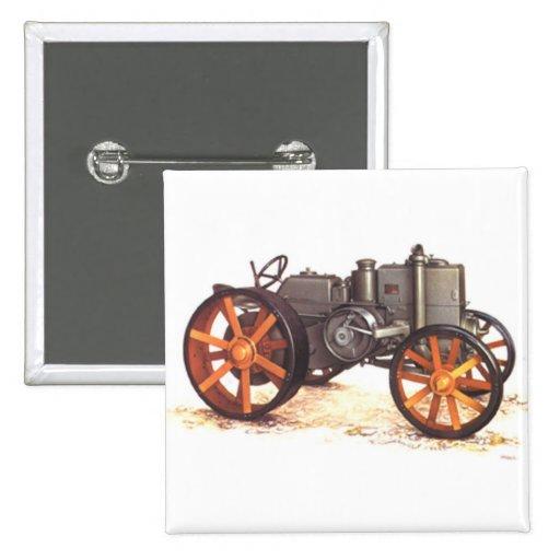 Tractor del vintage pins